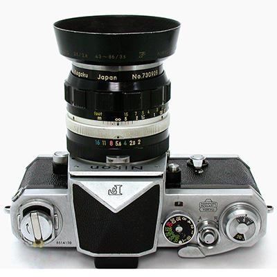 ニッコールO オート 35mmF2 + Nikon ...
