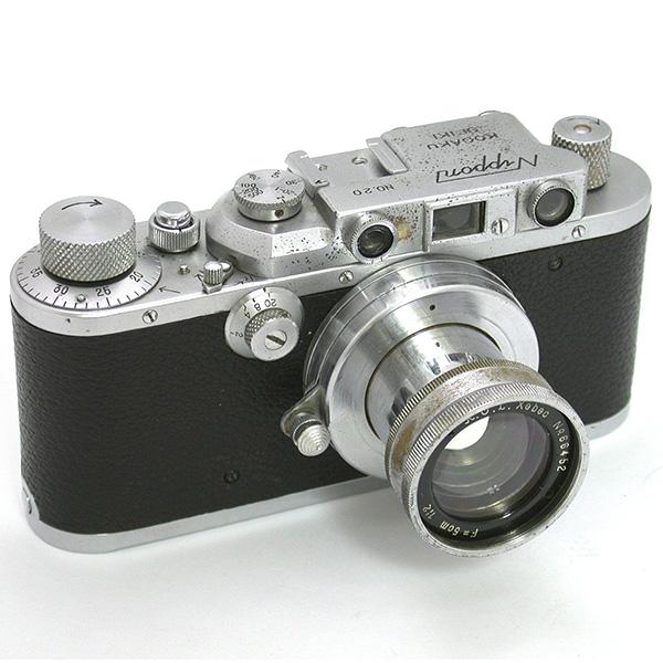ニッポン(戦中型) + クセベック50mmF2 正面から