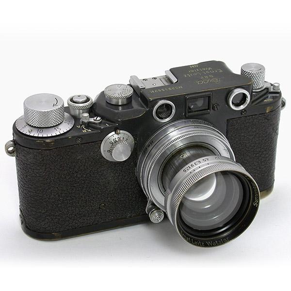 正面 ライカⅢcK + ズミタール50mmF2