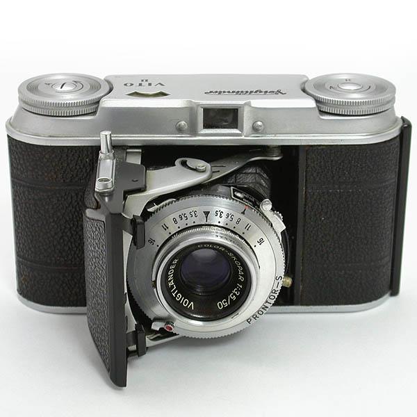 ビトーⅡ 横開きの35mm判スプリングカメラ