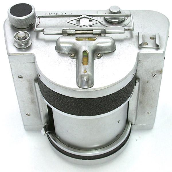 2019年8月パノンカメラ AⅡ 水準器が見やすく配置されている