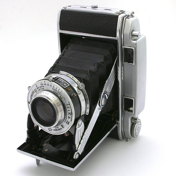 テルカⅢ型 スプリングカメラとして一般的な形