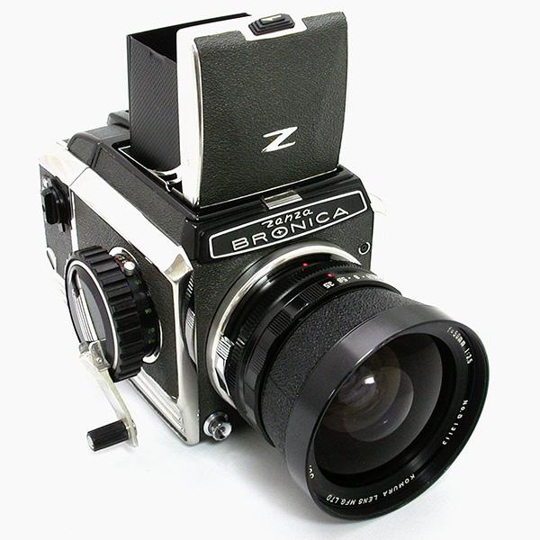 ゼンザブロニカS + スーパーコムラー50mmF3.5  スーパーコムラー50mmF3.5付きのゼンザブロニカS